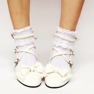 Antaina Tea Party Glitter Shoes