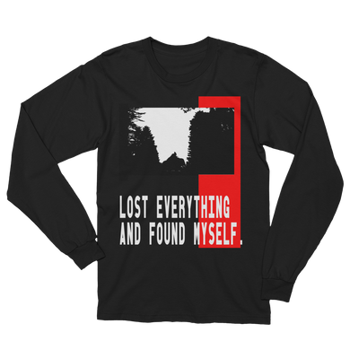 Lost Everything And Found Myself - Men's/Unisex Long Sleeve T-Shirt - Yohann LIBOT