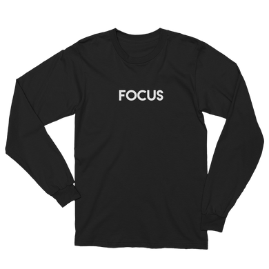 Focus - Men's/Unisex Long Sleeve T-Shirt - Yohann LIBOT