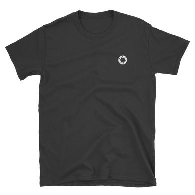 Aperture - Men's/Unisex Short Sleeve Embroidered T-Shirt - Perspective Clothing
