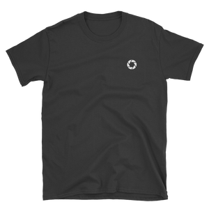 Aperture - Men's/Unisex Short Sleeve Embroidered T-Shirt - Yohann LIBOT