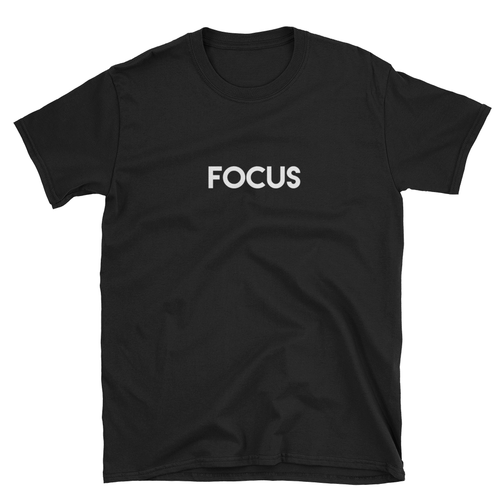 Focus - Men's/Unisex Short Sleeve T-Shirt - Yohann LIBOT