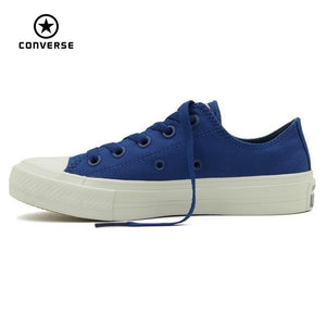 NEW Converse Chuck Taylor All Star II low men women's sneakers canvas shoes Classic pure color Skateboarding Shoes