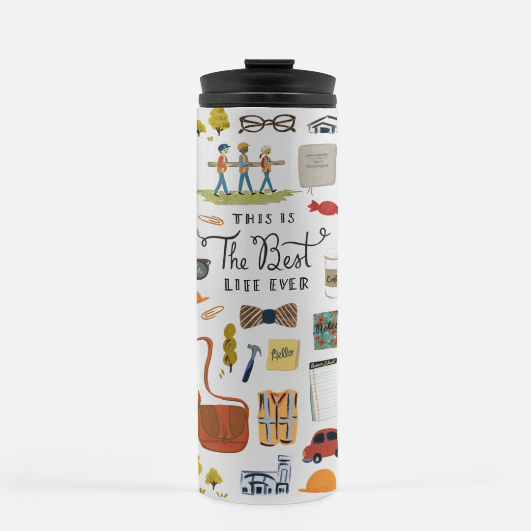 Travel Tumbler - Best Life Ever - JW
