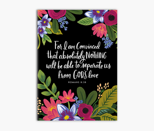 Romans 8:38, 39 - For I am Convinced Greeting Card