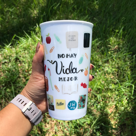 Limited Edition Ceramic Travel Mug - No Hay Vida Mejor