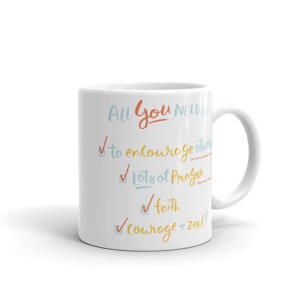SALE - You Can Always Have The Pioneer Spirit Encouragement 10oz Mug