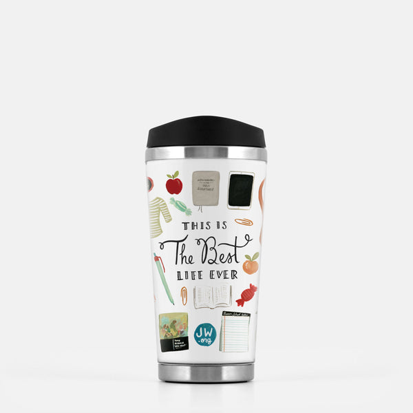 Best Life Ever Stainless Steel Travel Mug