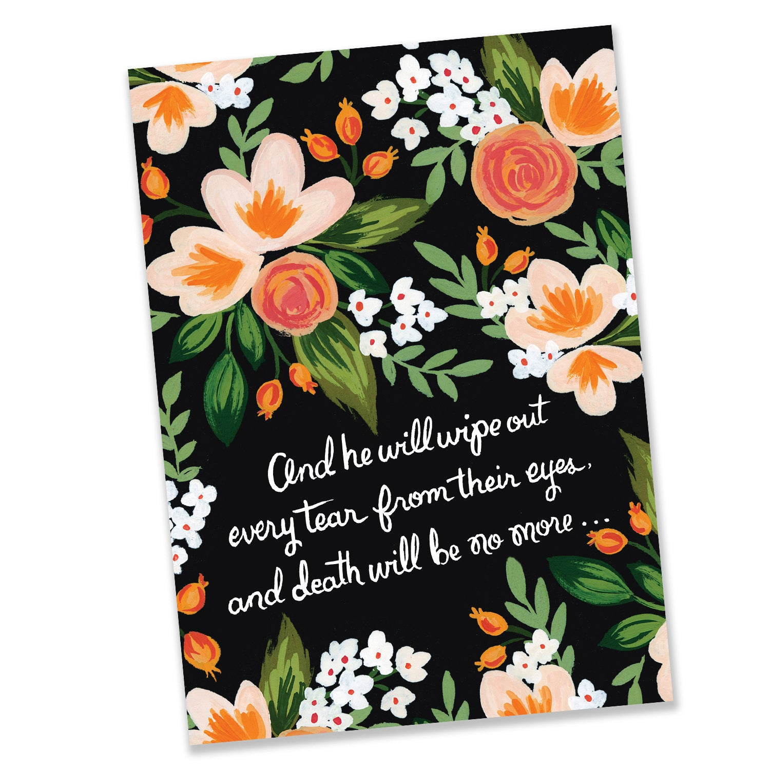 Revelation 214 Scripture Jw Greeting Card Seasoned With Salt Paperie