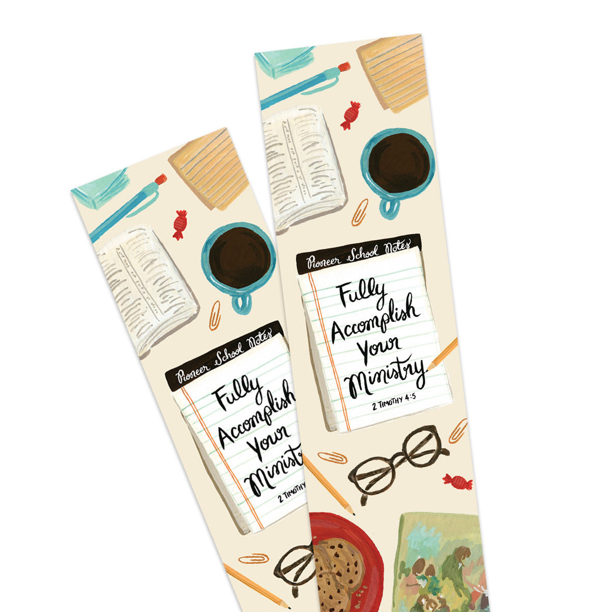 Fully Accomplish Your Ministry Bookmark, Pioneer School Gift