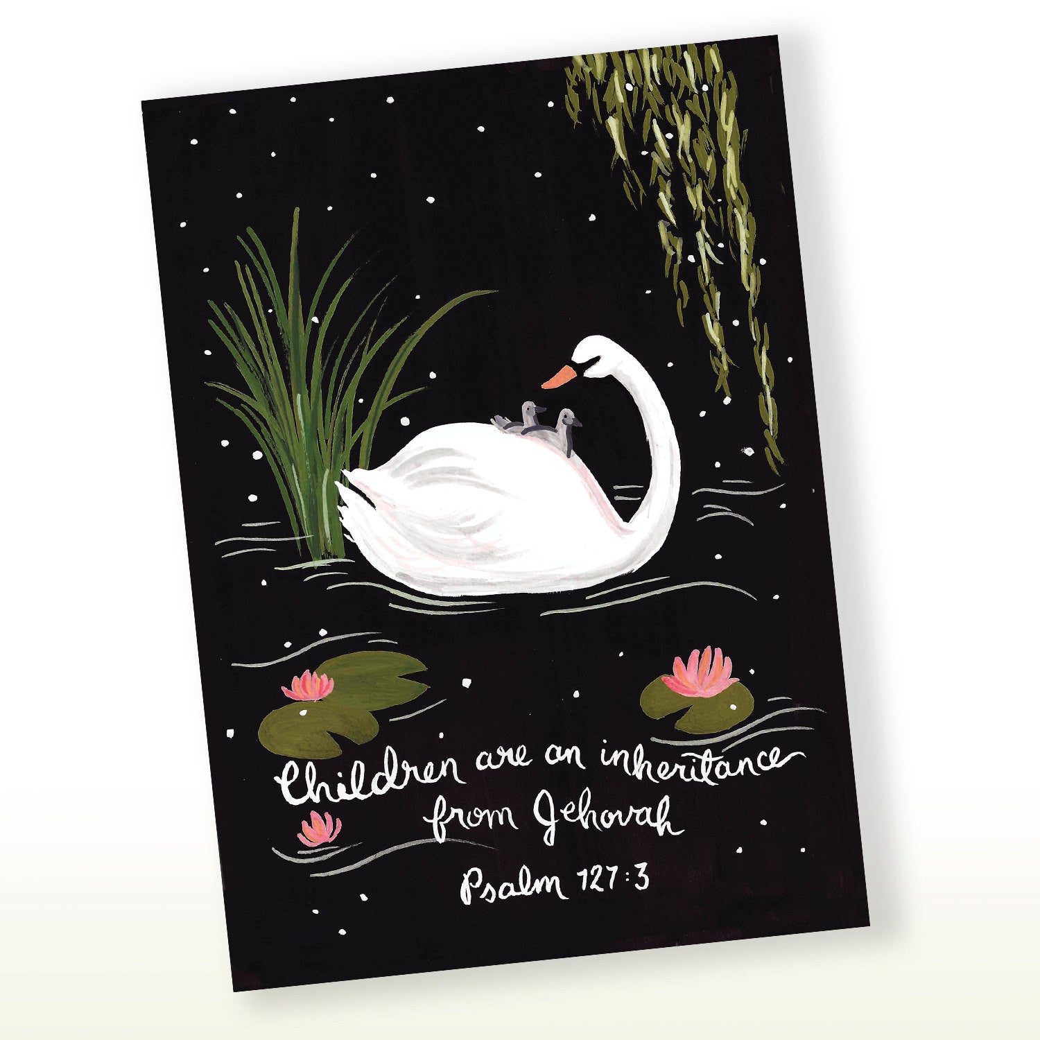 Children Are An Inheritance Psalms 127:3 Greeting Card