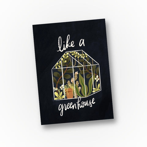 Like a Greenhouse - Elders Greeting Card