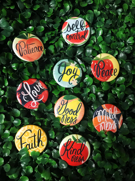 Galatians 5:22,23 Fruitage of God's Spirit Magnet Set