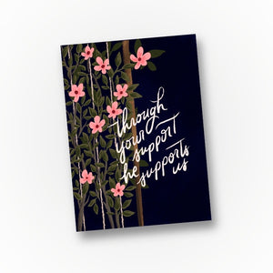 Like a Trellis - Elder's Wife Greeting Card