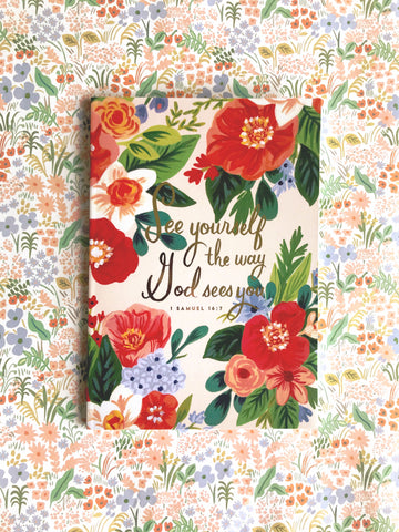 See Yourself the Way God Sees You - A5 Notebook