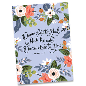 Greeting card draw close to god and he will draw close to you greeting card draw close to god and he will draw close to you james m4hsunfo