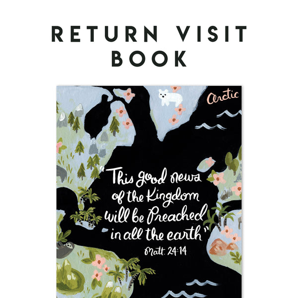 Return Visit Notebook - This Good News of the Kingdom - Matt 24:14