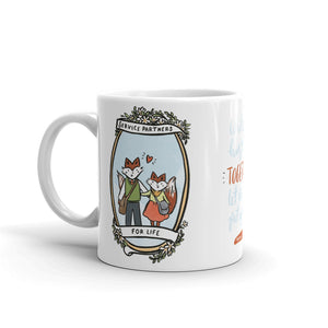 Service Partners For Life - Fox Couple Edition 10oz Mug