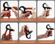 Adjustable Hand Grips (10-40 kg)