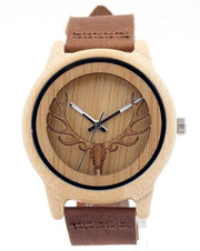 Ebony Wooden Watch (Matte)
