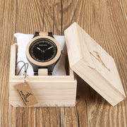 Ebony Pine Wooden Watch