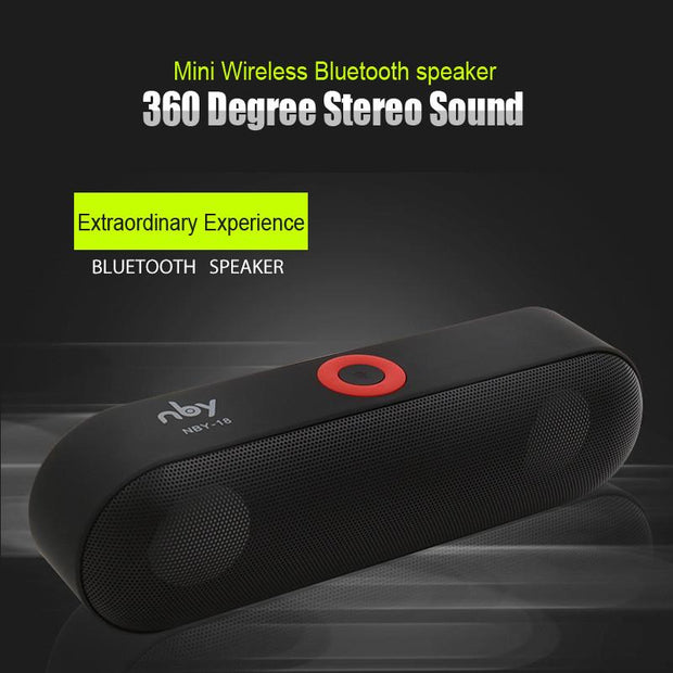 Bluetooth Speaker Sound System - 3D Stereo Sound