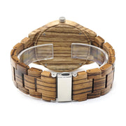 Zebra Wooden Watch
