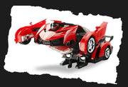 2 in 1 RC Transforming Car Robot