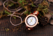 Premium Two Tone Wooden Watch