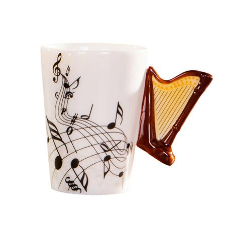 Music Cup - Harp
