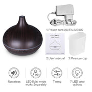 Aroma Diffuser - 300ml Light Wood