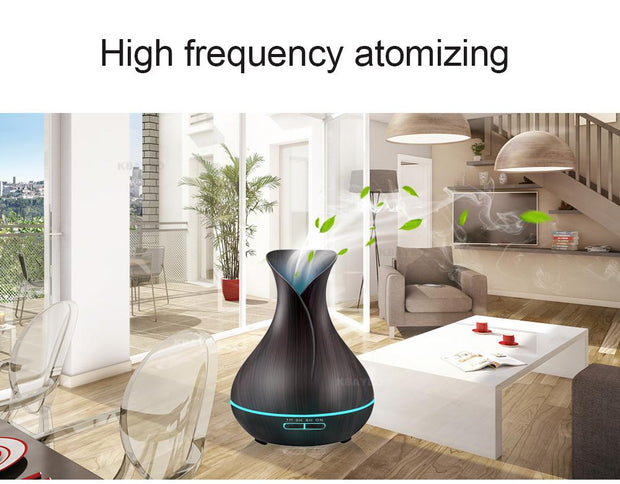 Aroma Diffuser - 400ml Light Wood