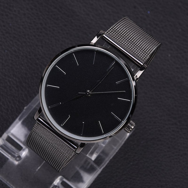 Trendy Mesh Watch - Black