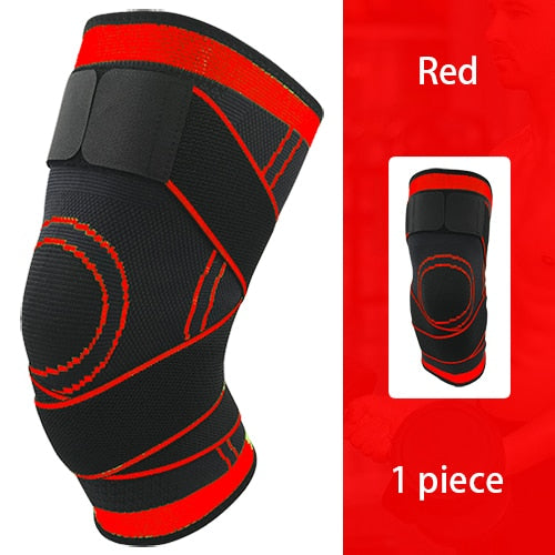 Nylon Elastic Knee Brace (Compression, Breathable)