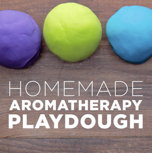 Homemade Aromatherapy Playdough