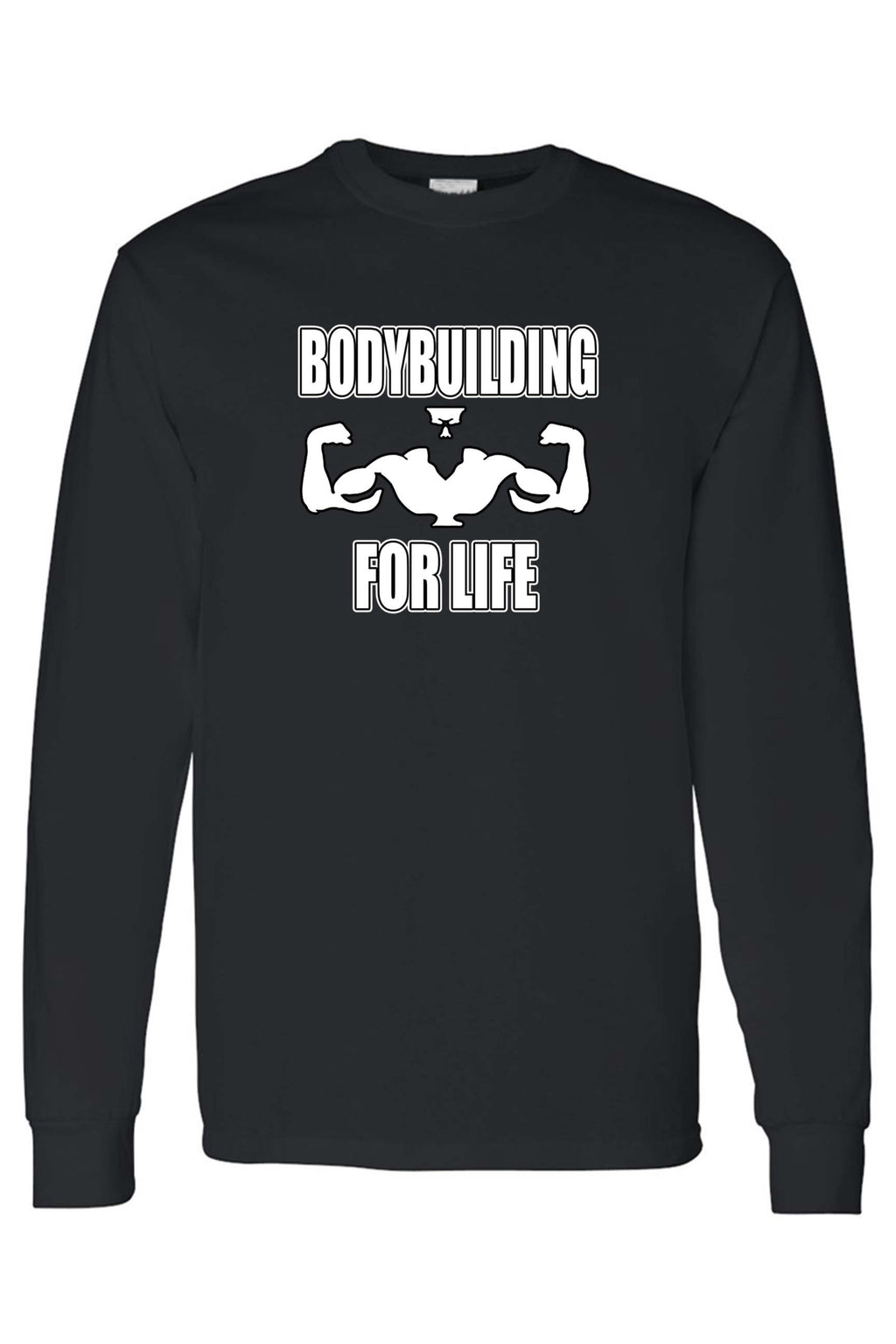 Men's Bodybuilding For Life Workout Fitness Long Sleeve shirt