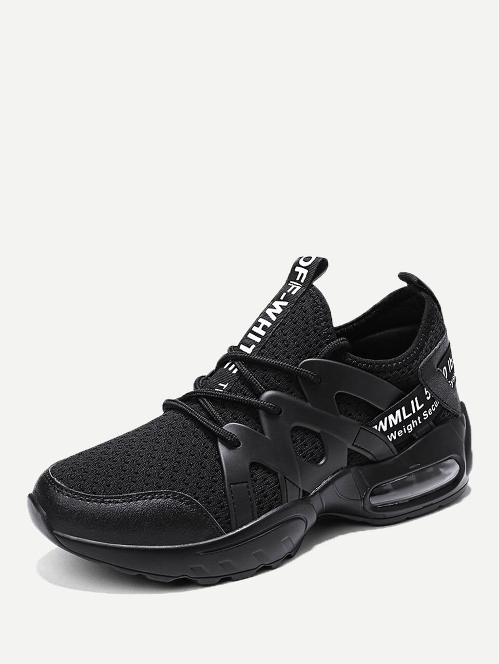 Men Lace-up Front Mesh Sneakers