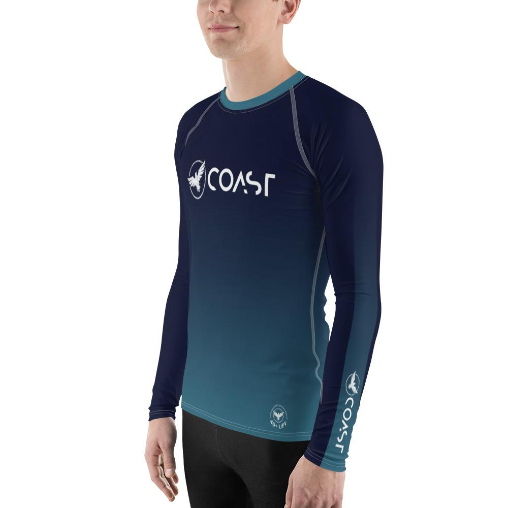 Men's Ocean Fade Sleeve Performance Rash Guard UPF 40+