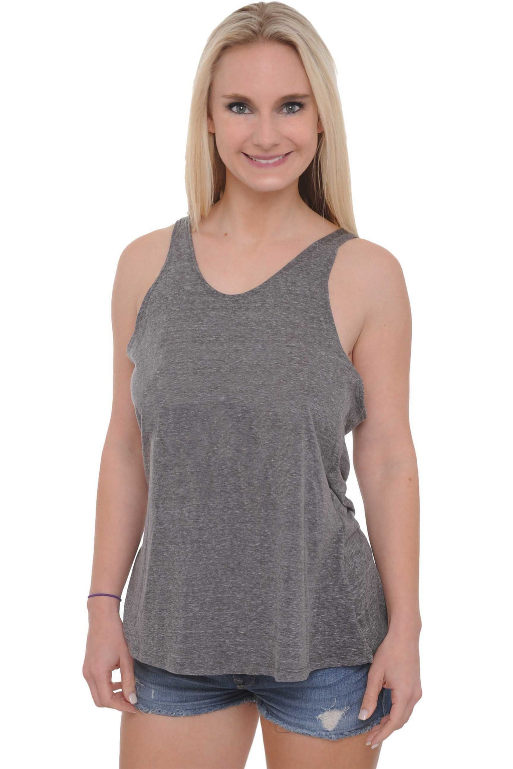 Women's Tank Top Tied Racer Back