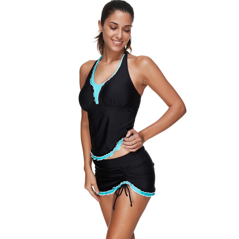 HEXIN Padded Top Bathing Suit