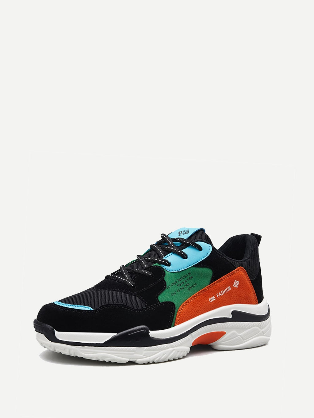 Men Color-block Chunky Sneakers