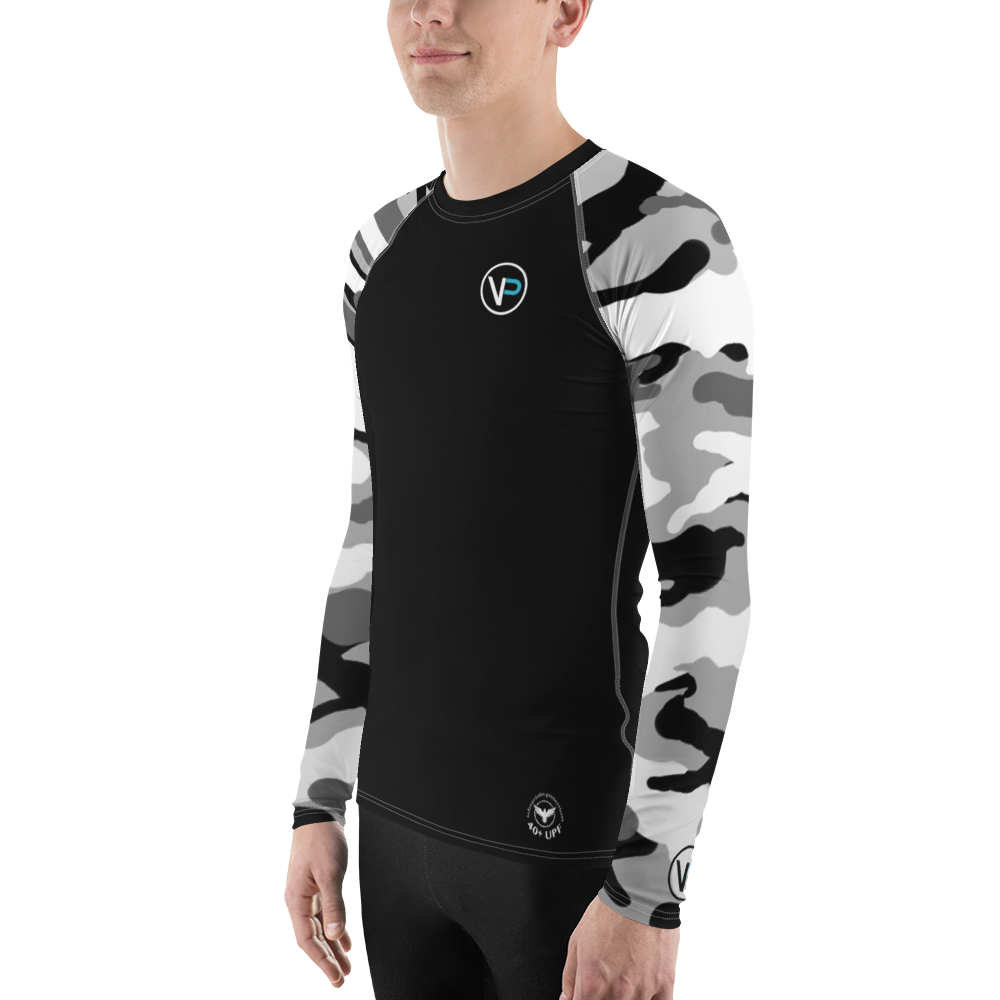 Men's Venture Pro Camo Sleeve Performance Rash Guard UPF 40+
