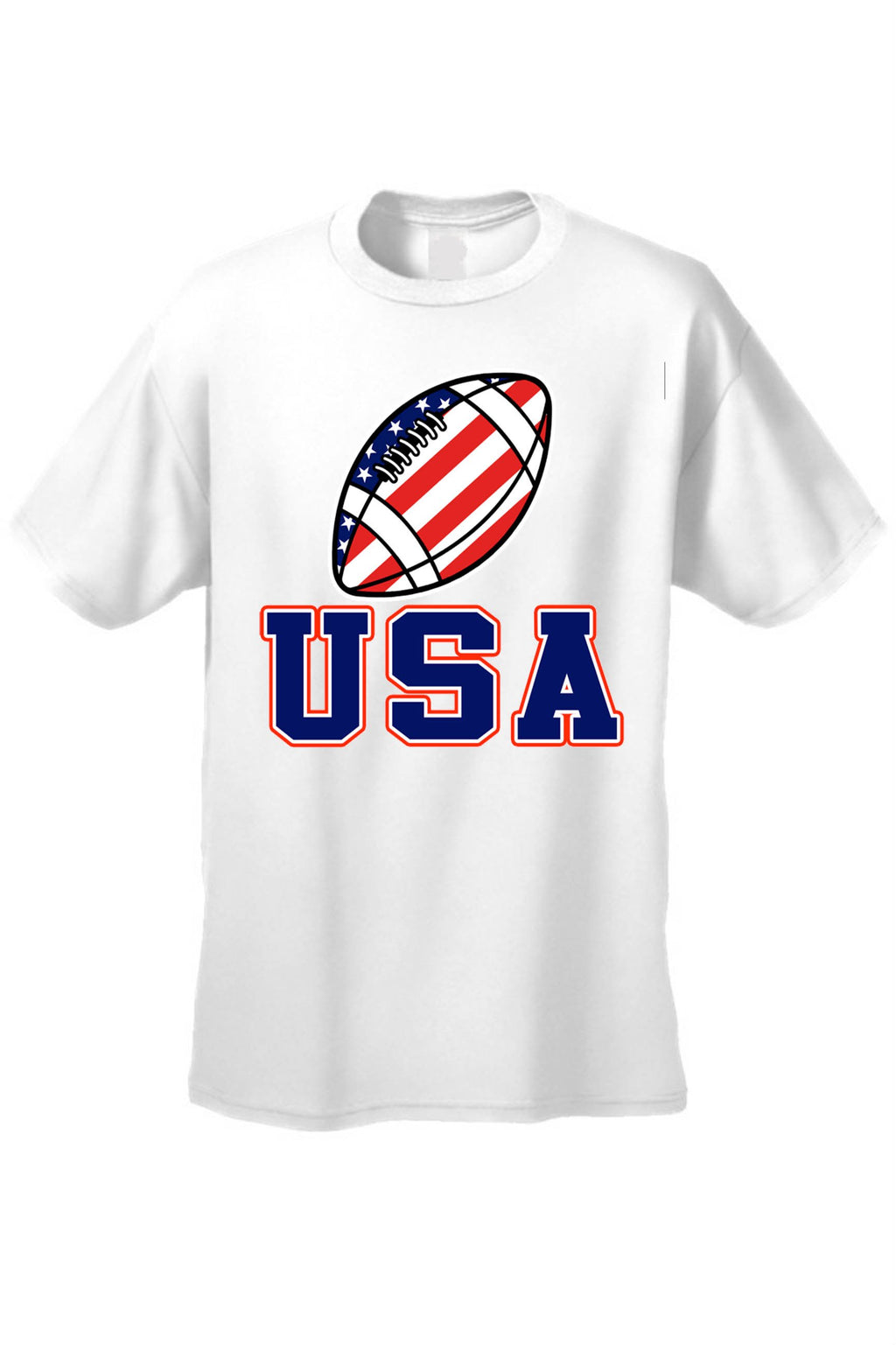 USA Flag Tank Top Men's Shirt Football Pride