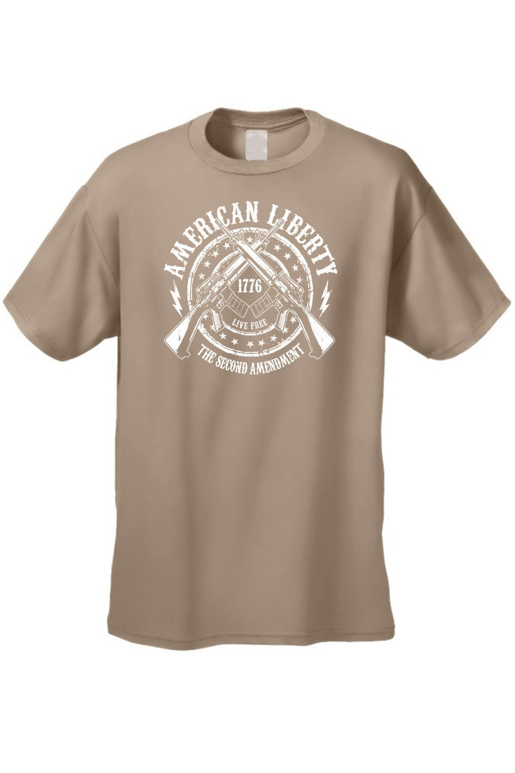 Men's T Shirt American Liberty The 2nd Amendment Tee