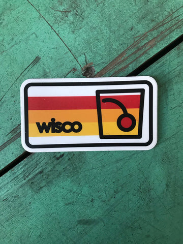 Wisco Old Fashioned Sticker