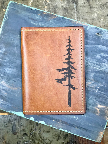 Parks Leather Passport Wallet