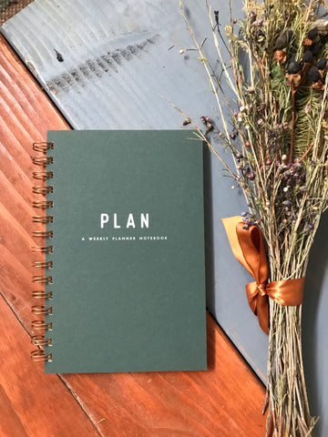 Plan A Weekly Planner