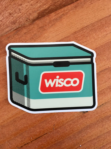 Wisco Cooler Sticker