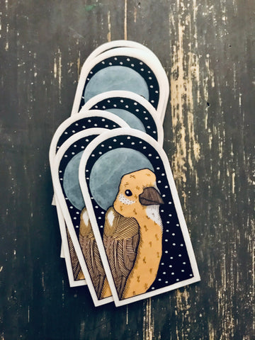 Canary Vinyl Sticker
