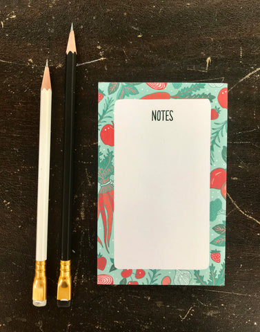 Fruit & Veggies Notepad